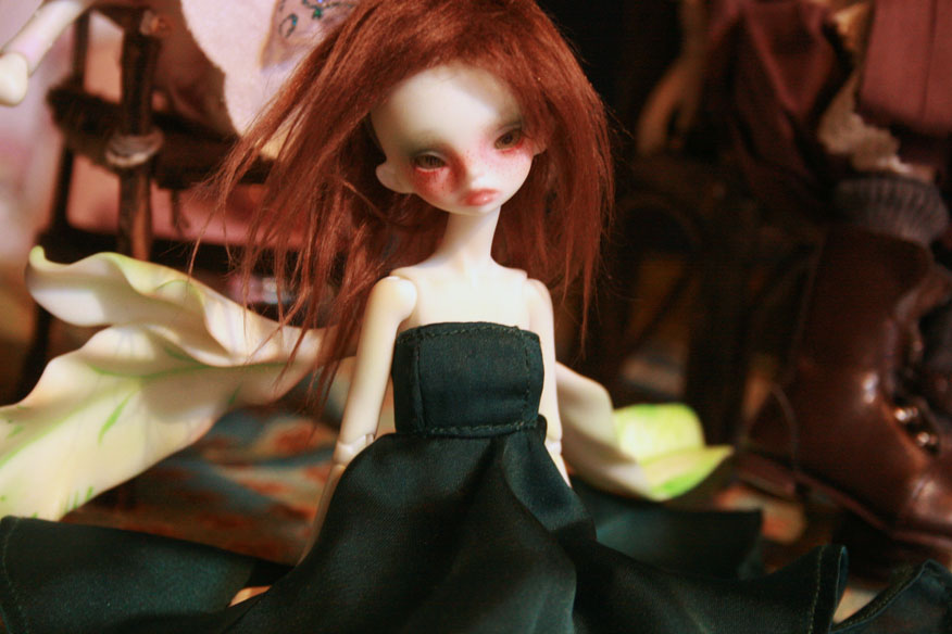 Maverick's Dollzone Ivy. Detailed, delicate, and a possibly candidate for inclusion in my fairy population.